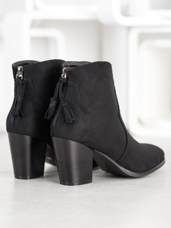 Neformálne členkové topánky na zips