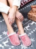Klasické ružové papuče