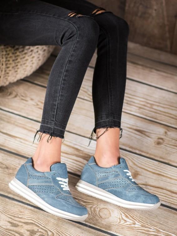 Športové topánky z eko kože