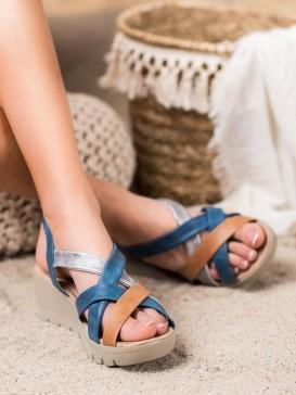 Pohodlné sandálky na kline