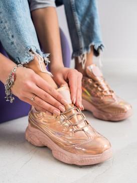 Sneakersy s efektom holo