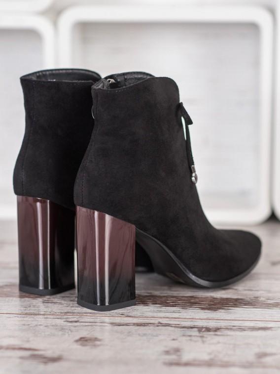 Členkové topánky s mašľou