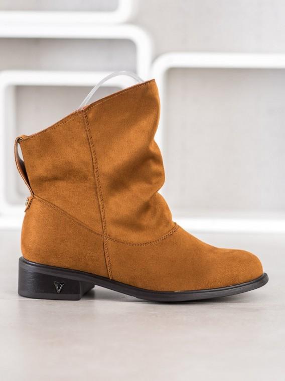 Členkové topánky so širokým zvrškom
