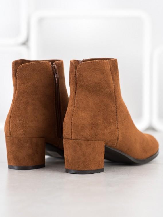Dámske členkové topánky so zateplením