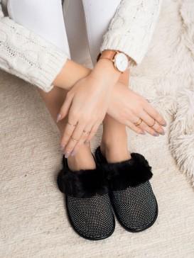 Pohodlné papuče s kožúškom