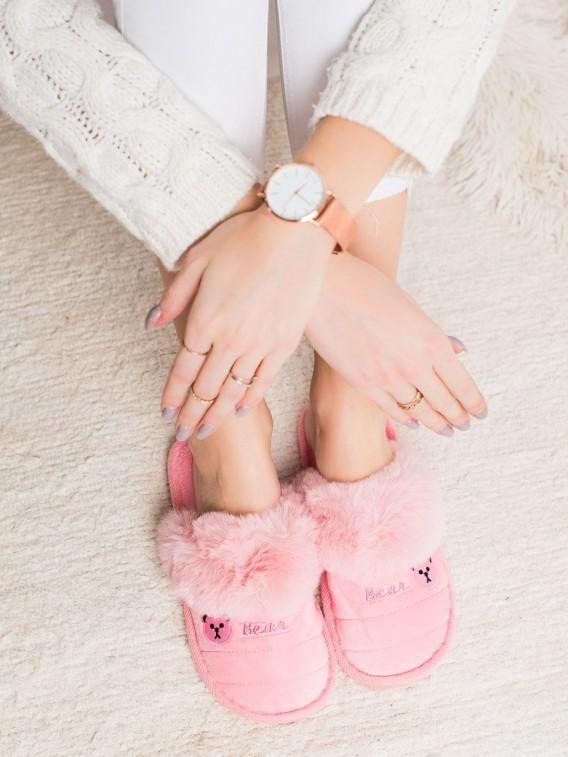 Papuče s kožúškom Bear