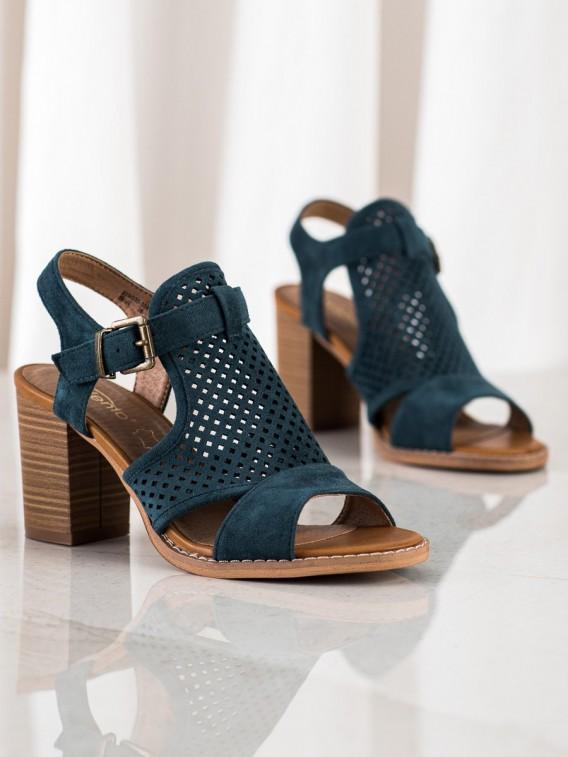 Dierkované sandálky na jar