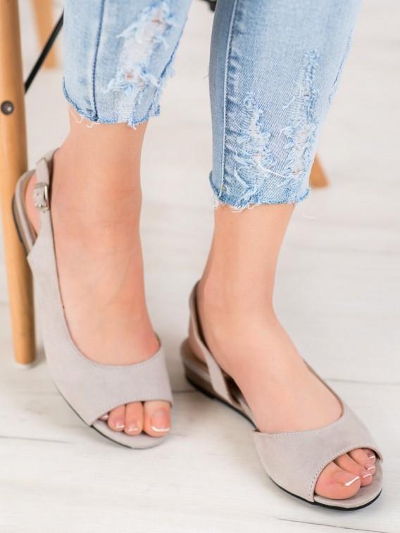 Pohodlná semišová obuv