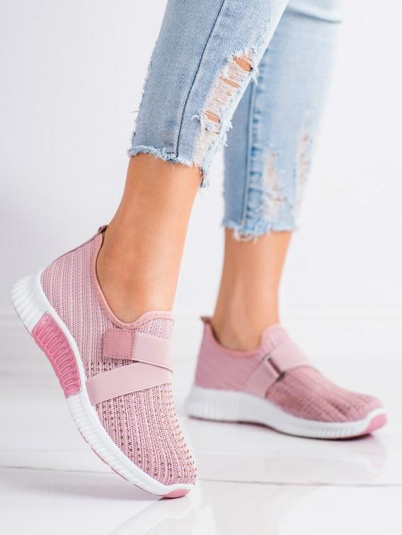 Športové topánky s kryštálmi