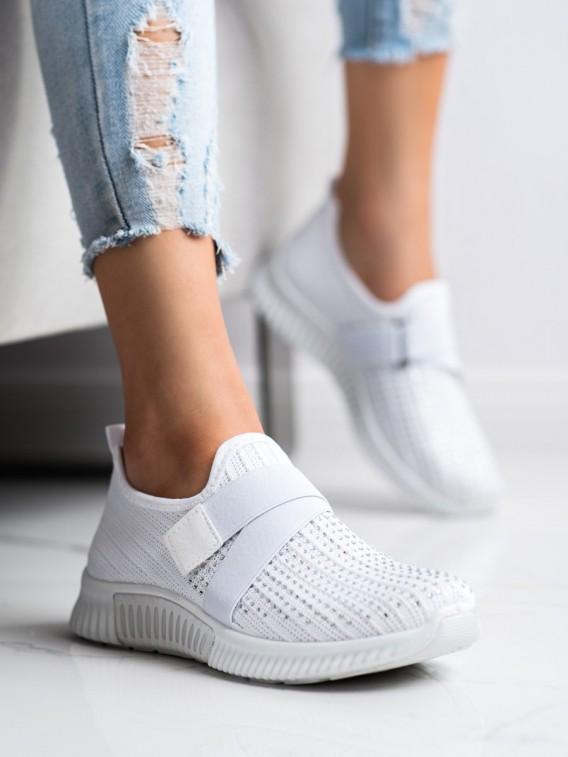 Topánky športové s kryštálmi