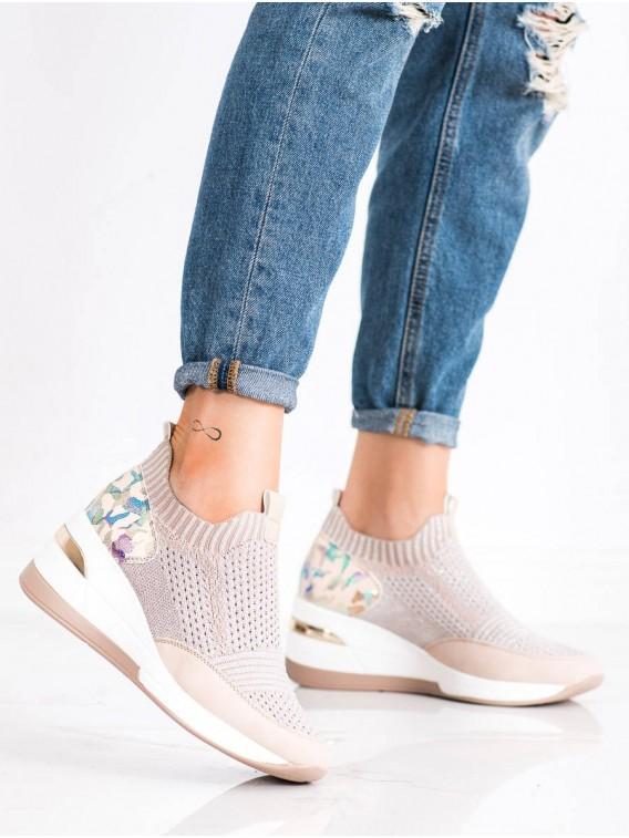 Nazúvacie sneakersy Moro Print