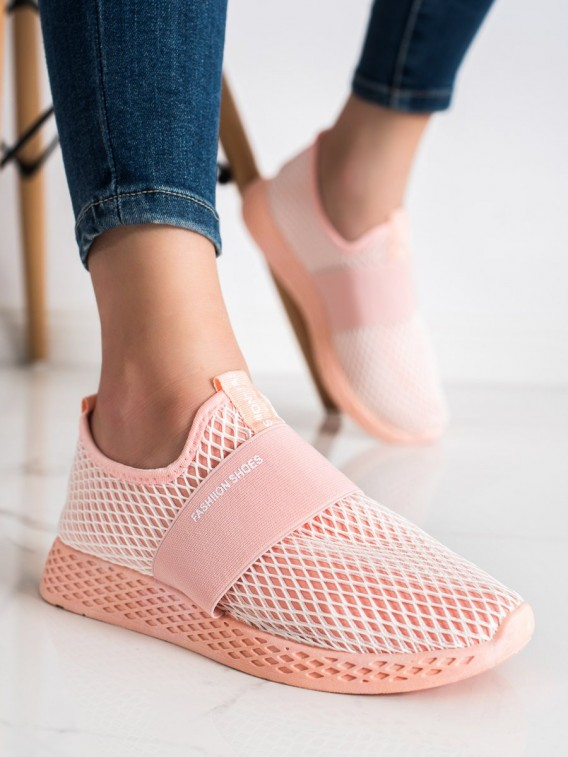 Nazúvacie sneakersy so sieťkou