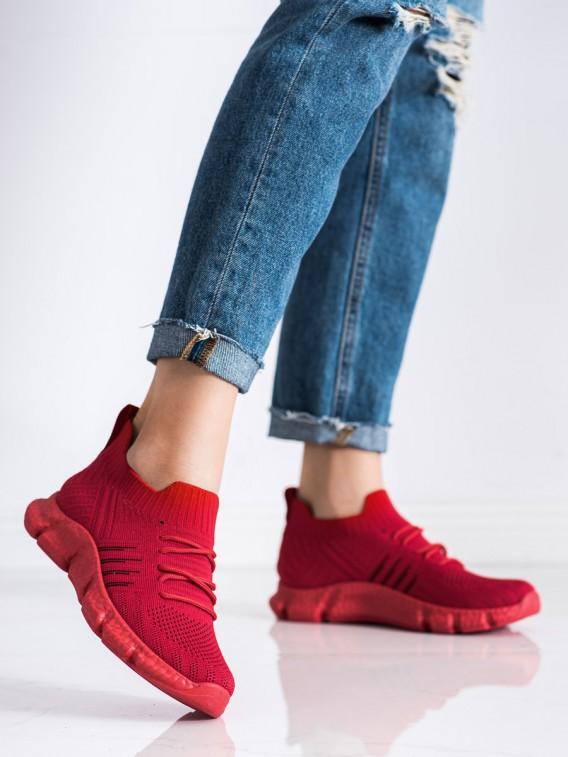 Dierkované sneakersy na platforme