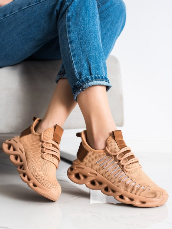 Hnedé sneakersy Fashion