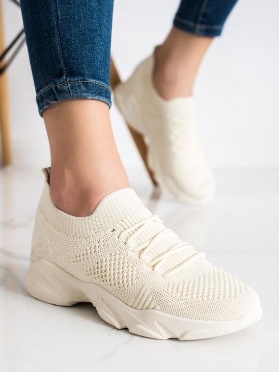 Béžové športové topánky