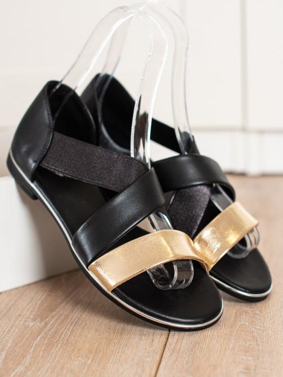 Nazúvacie sandálke s pásikmi