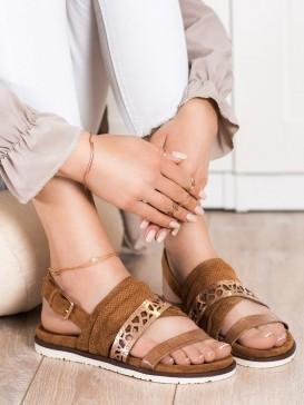 Módne sandálky s prackou