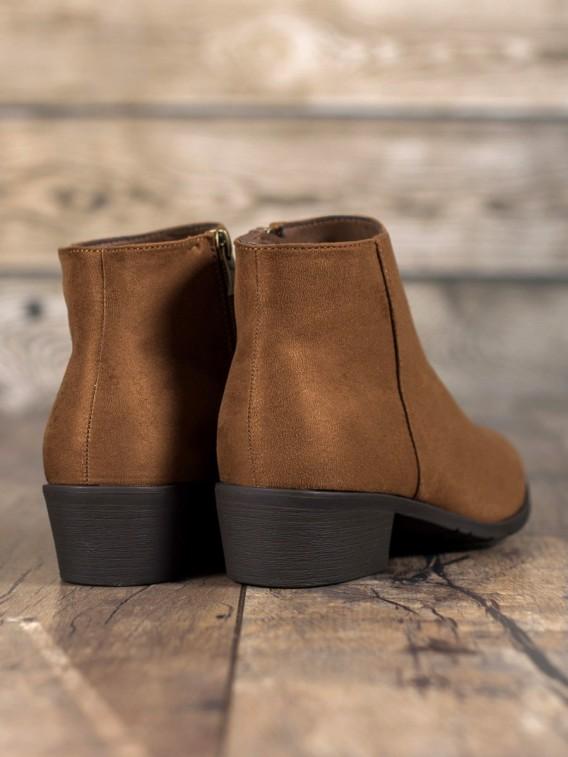 Hnedé dámske topánky