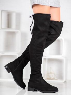 Pohodlné čižmy pod kolená