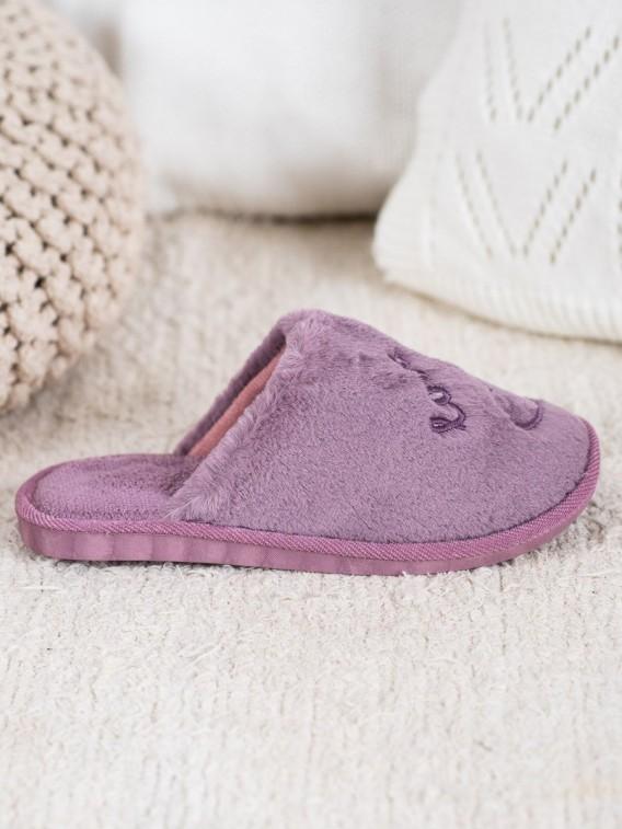 Hrejivé papuče Love