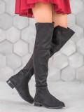 Štýlové čižmy nad koleno