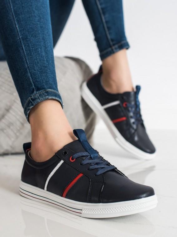 Klasické športové topánky z kože