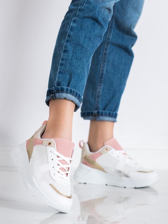 Štýlové sneakersy so sieťkou