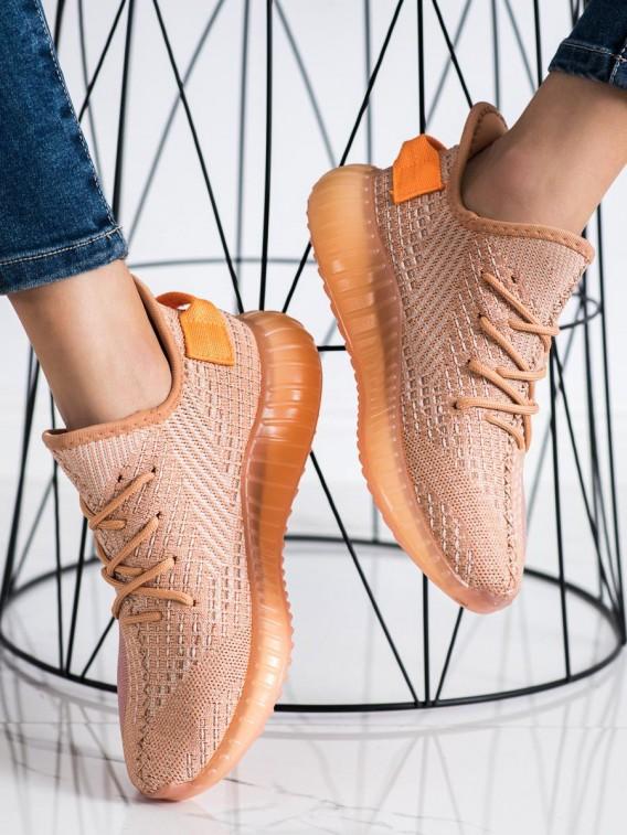 Textilné sneakersy na platforme