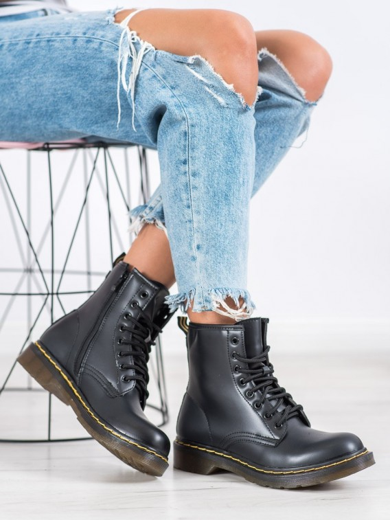 Čierne topánky na zips