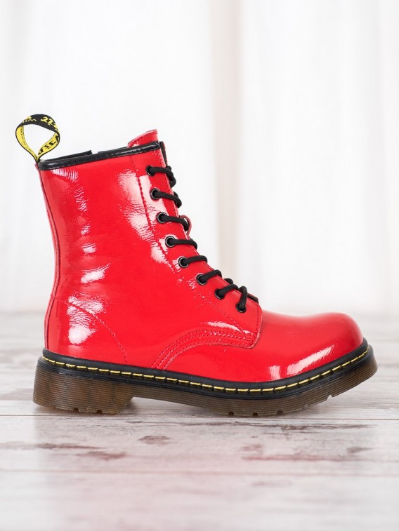 Kožené topánky na zips