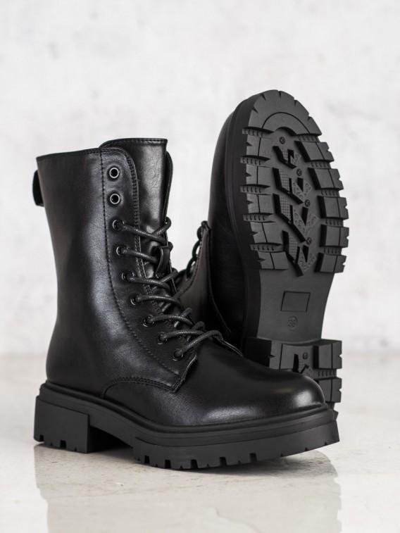 Zateplené topánky z eko kože