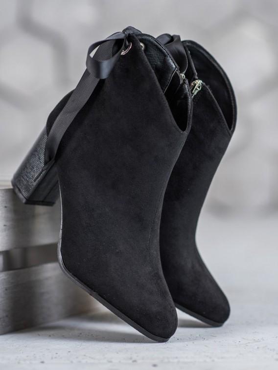 Štýlové čierne topánky