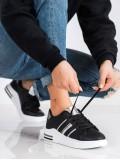 Neformálne čierne športové topánky