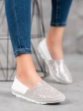Nazúvacia kožená obuv