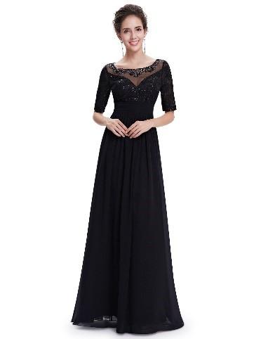 čierne šaty 2