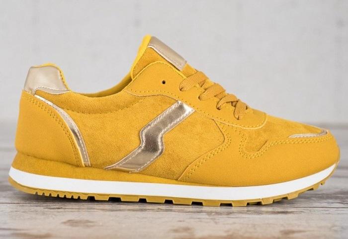 žlté tenisky